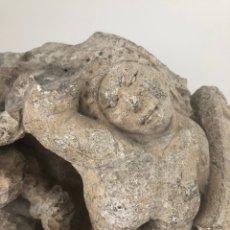 Arte - Fragmento de capitel románico. Siglo XIII. Muy rara representación de hermafroditismo. - 167517904