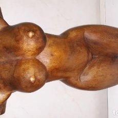 Arte: BUSTO TALLADO EN MADERA . Lote 167996832