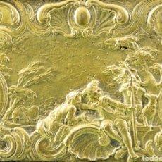 Arte: BAJORRELIEVE FRANCÉS EN BRONCE, S.XVIII. Lote 168004353