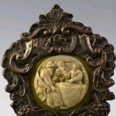 Arte: RELIEVE EN MARFIL, S.XVIII. Lote 168004781