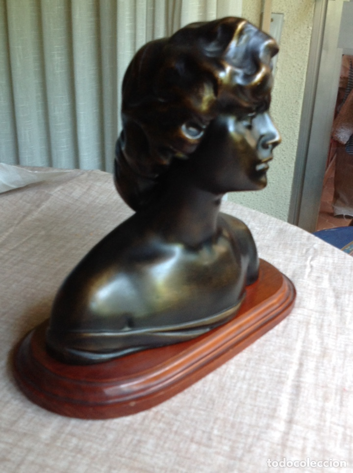Arte: Busto en bronce mujer (macizo) - Foto 2 - 103627215