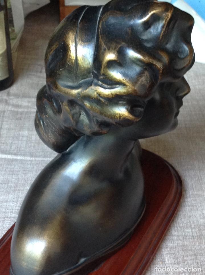Arte: Busto en bronce mujer (macizo) - Foto 4 - 103627215
