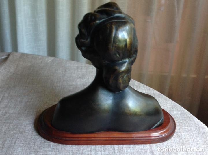 Arte: Busto en bronce mujer (macizo) - Foto 6 - 103627215