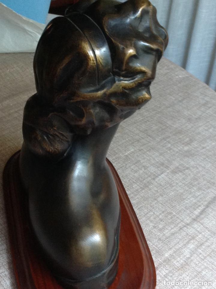 Arte: Busto en bronce mujer (macizo) - Foto 5 - 103627215