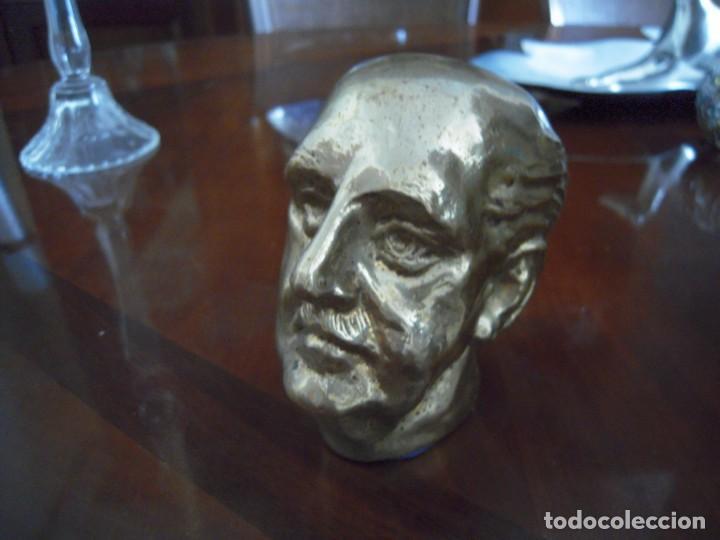 Arte: Busto en Bronce Francisco Franco - Foto 2 - 168496152