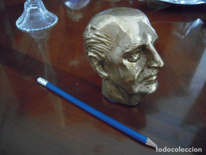 Arte: Busto en Bronce Francisco Franco - Foto 3 - 168496152