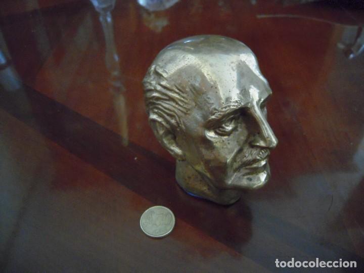Arte: Busto en Bronce Francisco Franco - Foto 4 - 168496152