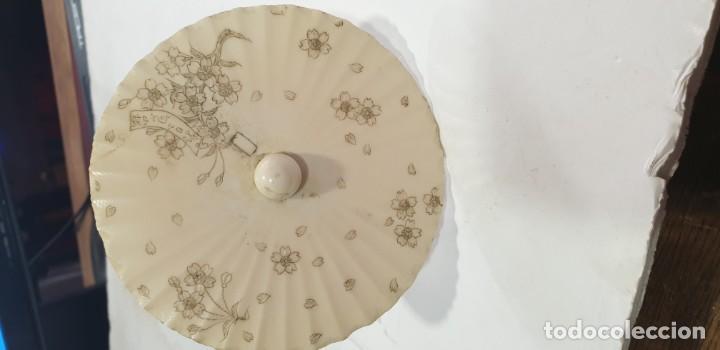 Arte: Sombrilla china siglo xix marfil - Foto 2 - 168669760