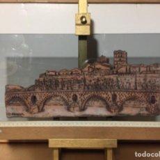 Arte: VISTA DE ZAMORA EN CERAMICA. OBRA DE MARISA VERGARA. . Lote 168752040