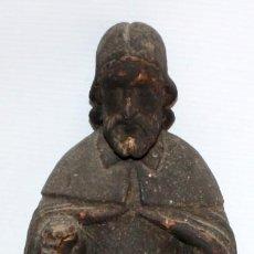 Arte: ESCUELA ESPAÑOLA DEL SIGLO XVIII. IMAGEN RELIGIOSA EN MADERA TALLADA Y POLICROMADA. Lote 168804512