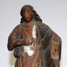 Arte: ESCUELA HISPANO-FILIPINA DEL SIGLO XVIII. IMAGEN RELIGIOSA EN MADERA TALLADA Y POLICROMADA. Lote 168805872