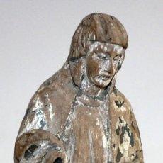 Arte: ESCUELA ESPAÑOLA DEL SIGLO XVIII. IMAGEN RELIGIOSA EN MADERA POLICROMADA. Lote 168809844