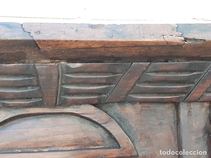 Arte: TALLA GRANDE DE MADERA EN BAJORRELIEVE - LA SANTA CENA - - Foto 16 - 169351720