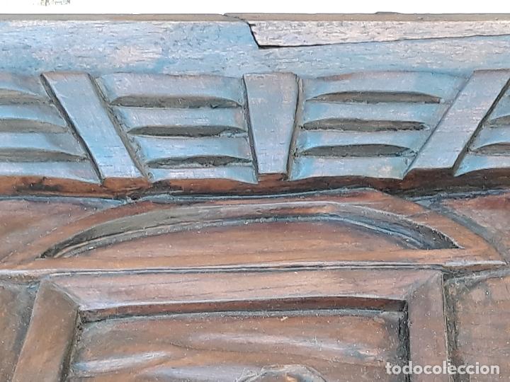 Arte: TALLA GRANDE DE MADERA EN BAJORRELIEVE - LA SANTA CENA - - Foto 17 - 169351720
