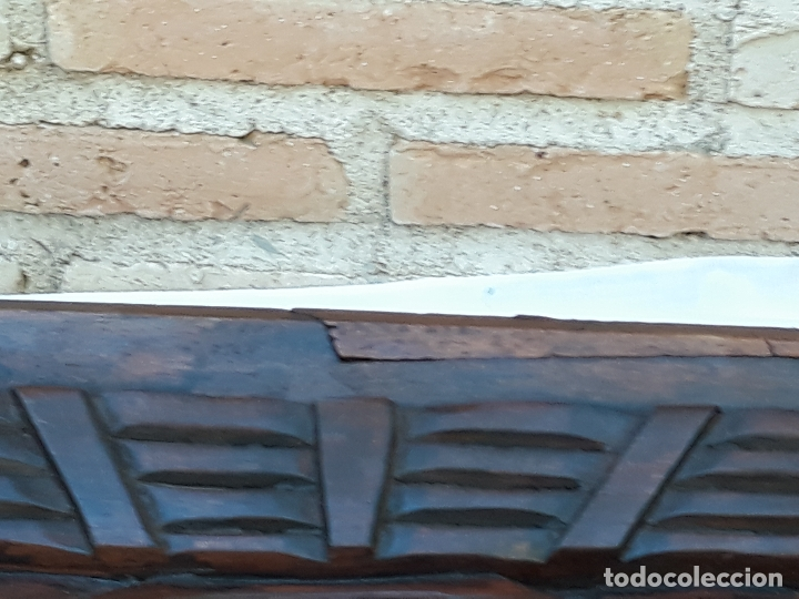 Arte: TALLA GRANDE DE MADERA EN BAJORRELIEVE - LA SANTA CENA - - Foto 24 - 169351720