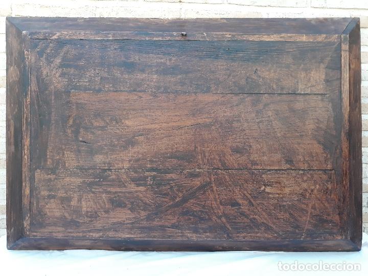 Arte: TALLA GRANDE DE MADERA EN BAJORRELIEVE - LA SANTA CENA - - Foto 26 - 169351720
