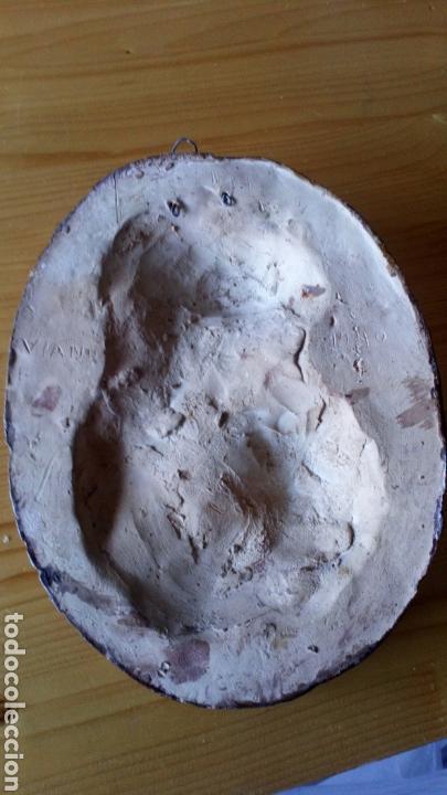 Arte: Escultura de terracota escrito trasero Viano 1940 - Foto 7 - 169806090