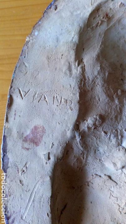 Arte: Escultura de terracota escrito trasero Viano 1940 - Foto 8 - 169806090