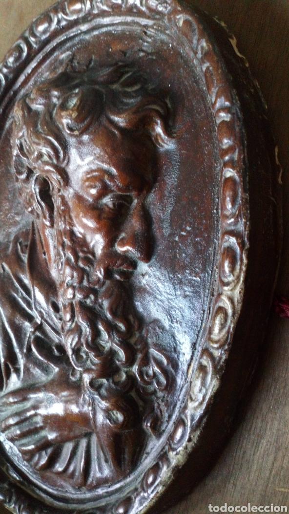 Arte: Escultura de terracota escrito trasero Viano 1940 - Foto 2 - 169806090