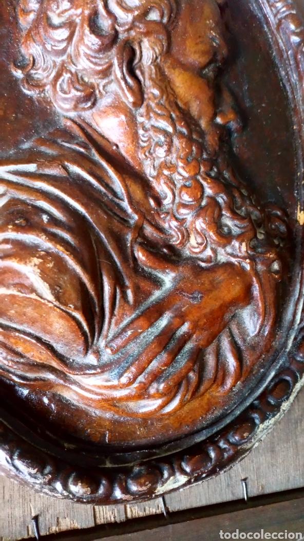 Arte: Escultura de terracota escrito trasero Viano 1940 - Foto 3 - 169806090