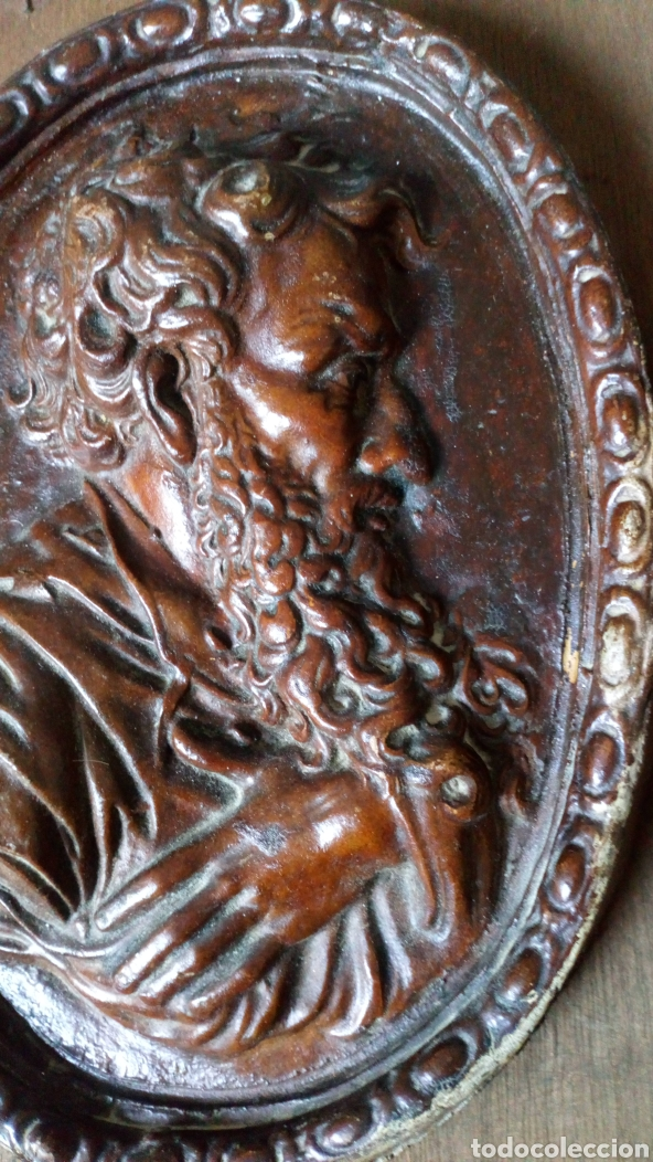 Arte: Escultura de terracota escrito trasero Viano 1940 - Foto 5 - 169806090