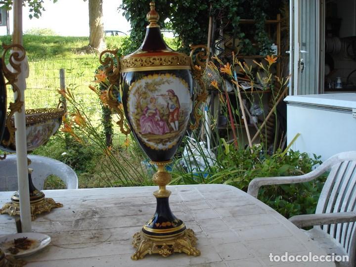 Arte: preciosa guarnicion en porcelana de sevres de coleccion ver fotos - Foto 3 - 170043828