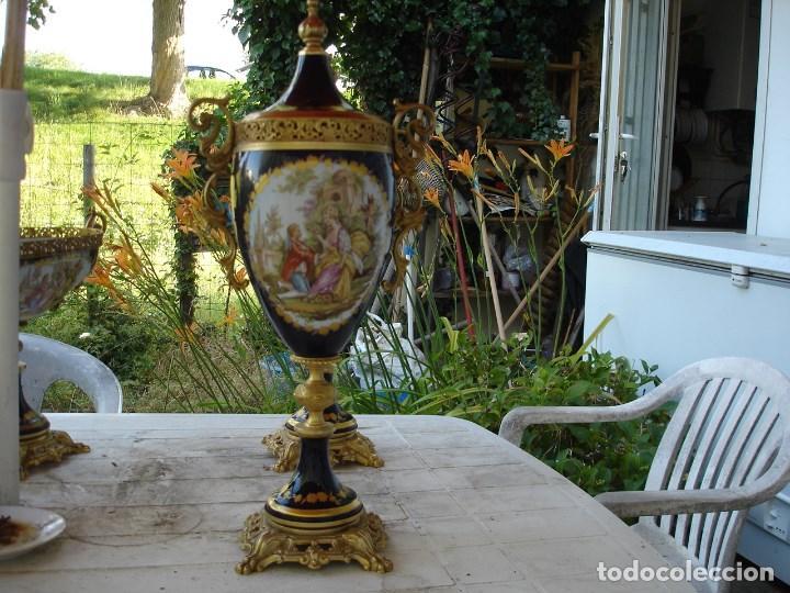 Arte: preciosa guarnicion en porcelana de sevres de coleccion ver fotos - Foto 6 - 170043828