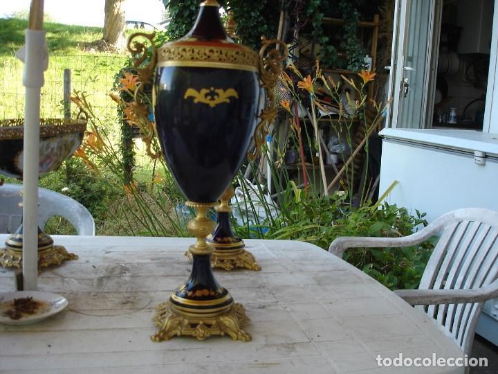 Arte: preciosa guarnicion en porcelana de sevres de coleccion ver fotos - Foto 7 - 170043828