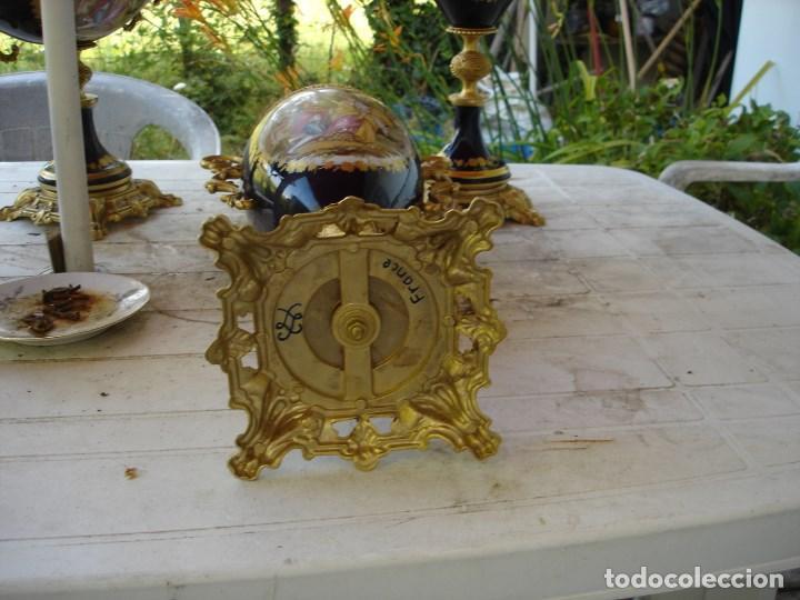 Arte: preciosa guarnicion en porcelana de sevres de coleccion ver fotos - Foto 8 - 170043828
