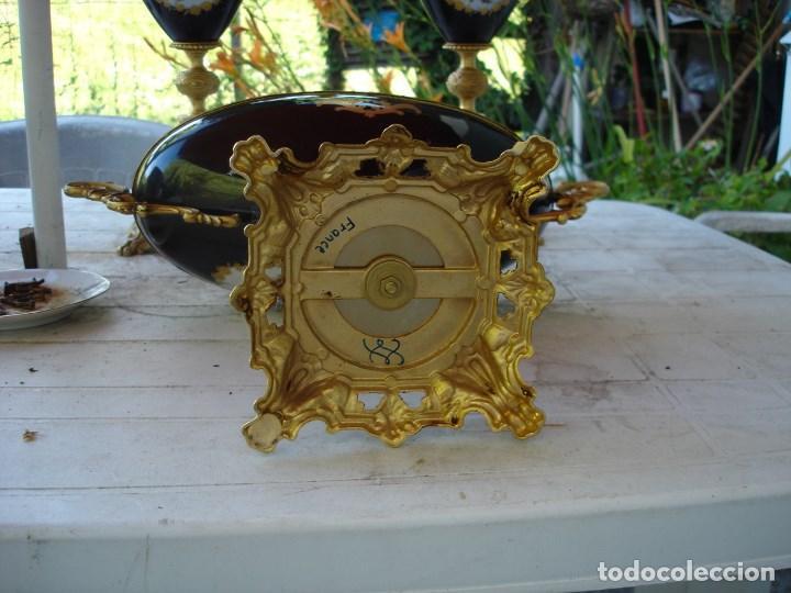 Arte: preciosa guarnicion en porcelana de sevres de coleccion ver fotos - Foto 11 - 170043828