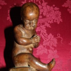 Arte: NIÑO EN TERRACOTA, SIGLO XVIII-XIX. Lote 170178628