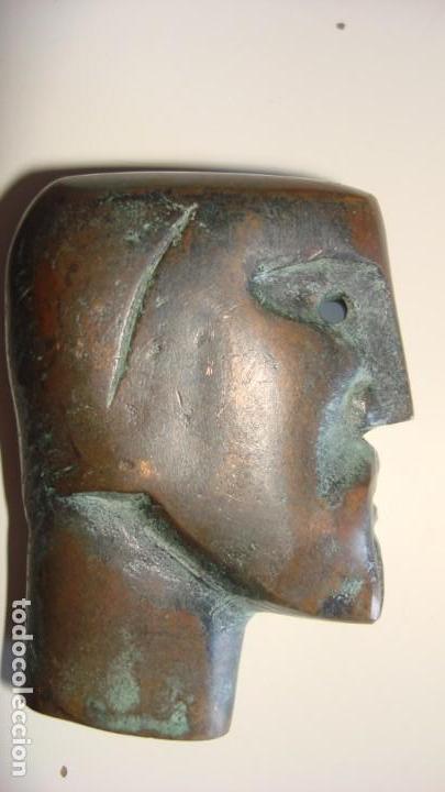 CABEZA MASCULINA EN BRONCE (Arte - Escultura - Bronce)