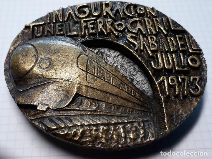 Arte: INAGURACION TUNEL FERROCARRIL. SABADELL JULIO 1973 - Foto 2 - 171388432
