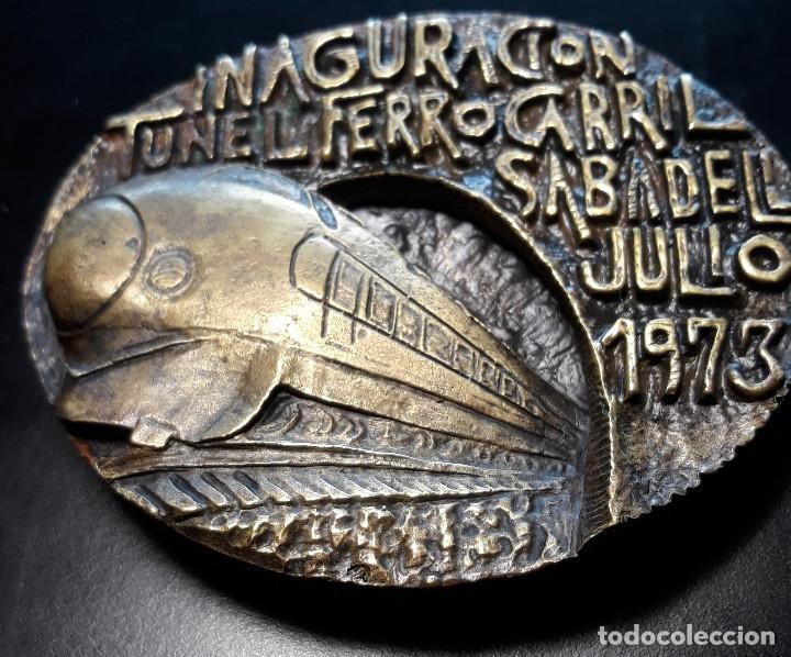 Arte: INAGURACION TUNEL FERROCARRIL. SABADELL JULIO 1973 - Foto 7 - 171388432