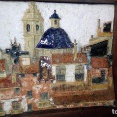 Arte: RELIEVE DE TERRACOTA ESMALTADO.. Lote 171617299