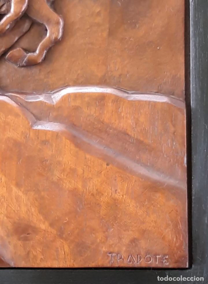 Arte: TRAPOTE MEDINA, JESÚS , ( ESCULTOR DE VALLADOLID ) - Foto 5 - 171845062