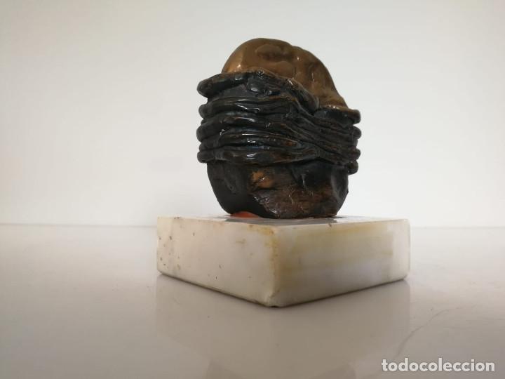 Arte: Interesante escultura firmada y numerada - Foto 3 - 172197627