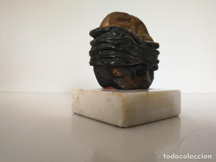 Arte: Interesante escultura firmada y numerada - Foto 7 - 172197627