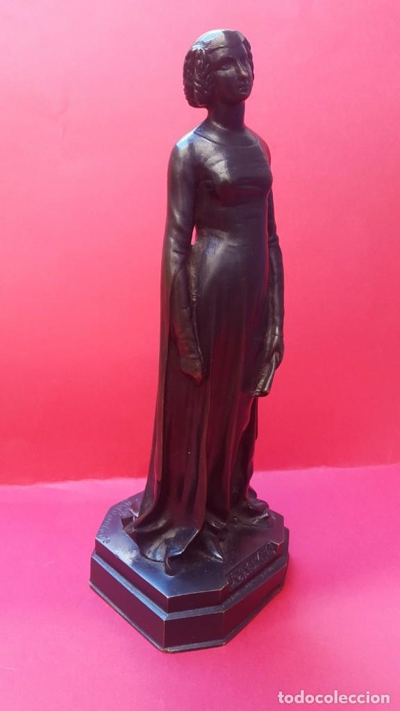 MODERNISMO - 1900 - CHARLES HENRI DELANGLADE - FIRMADA (Arte - Escultura - Bronce)
