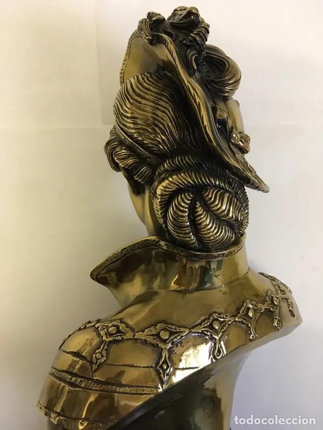 Arte: Busto en bronce - Foto 2 - 172410833
