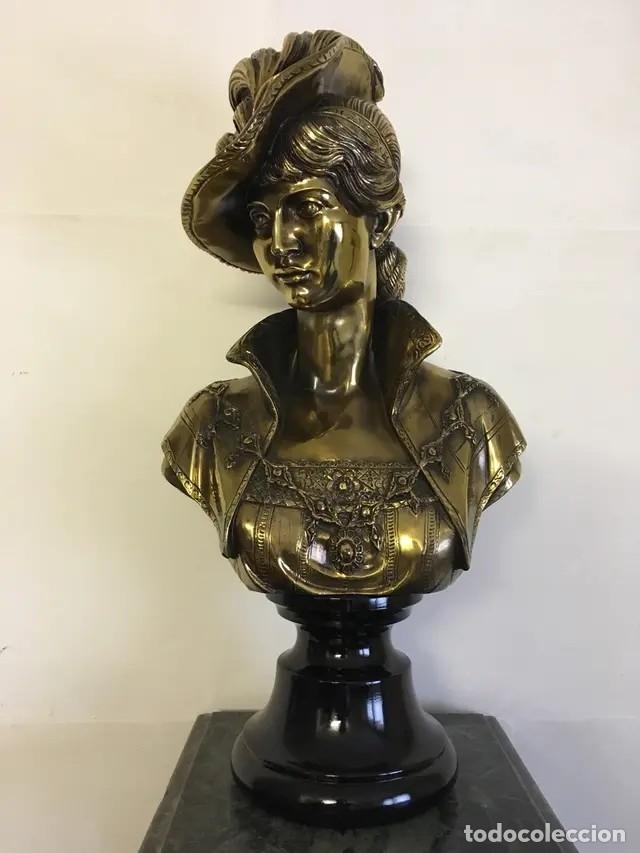 Arte: Busto en bronce - Foto 3 - 172410833