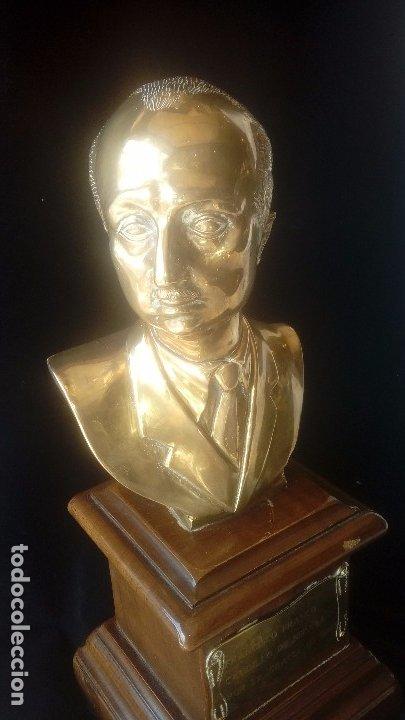 Arte: Francisco Franco Busto de bronce - Foto 2 - 173560177