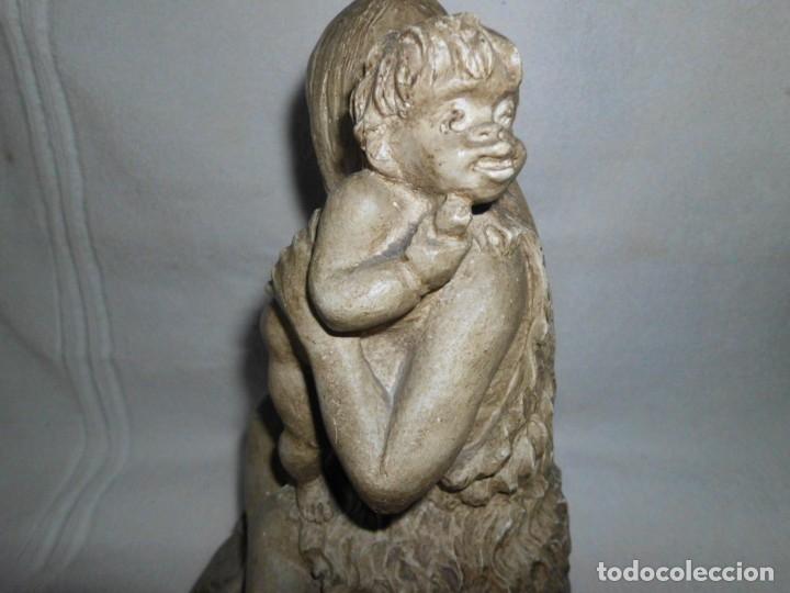 Arte: Figura TALLADA EN PIEDRA - Foto 2 - 173608943