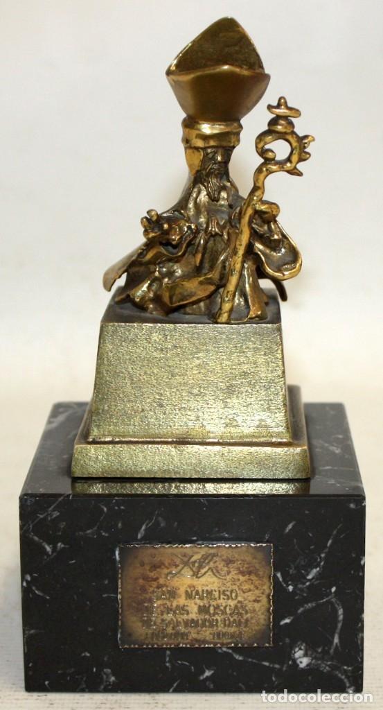 SALVADOR DALÍ DOMÈNECH (1904-1989) -SAN NARCISO D LAS MOSCAS- ESCULTURA EN BRONCE NUMERADA F-062/100 (Arte - Escultura - Bronce)