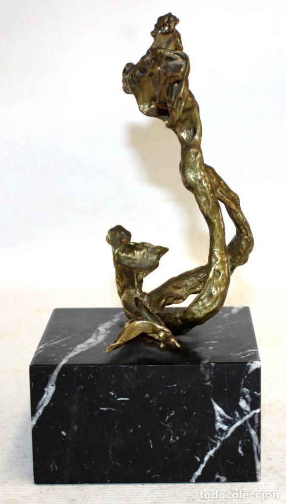Arte: SALVADOR DALÍ DOMÈNECH (1904-1989) -Triton alado- ESCULTURA EN BRONCE NUMERADA F-062/100 - Foto 3 - 173654555