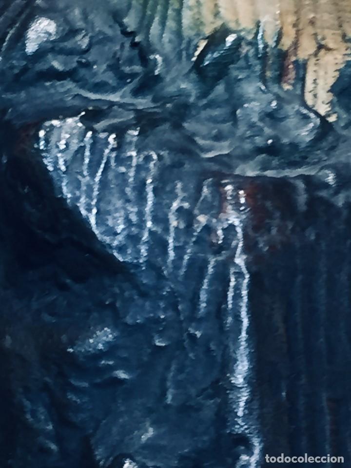 Arte: escultura terracota chico negro color americano sombrero copa sentado firma goldscheider austria 37c - Foto 11 - 173715164