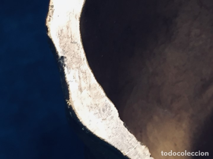 Arte: escultura terracota chico negro color americano sombrero copa sentado firma goldscheider austria 37c - Foto 24 - 173715164