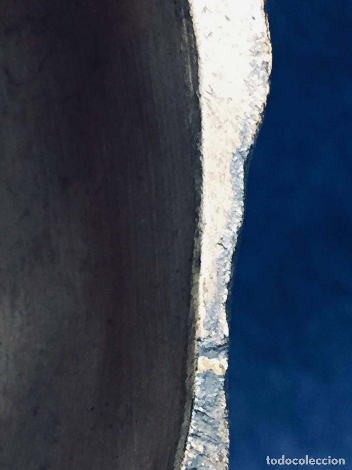 Arte: escultura terracota chico negro color americano sombrero copa sentado firma goldscheider austria 37c - Foto 30 - 173715164