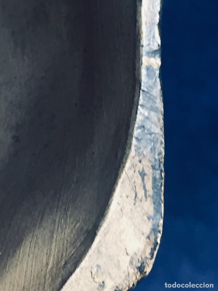 Arte: escultura terracota chico negro color americano sombrero copa sentado firma goldscheider austria 37c - Foto 31 - 173715164