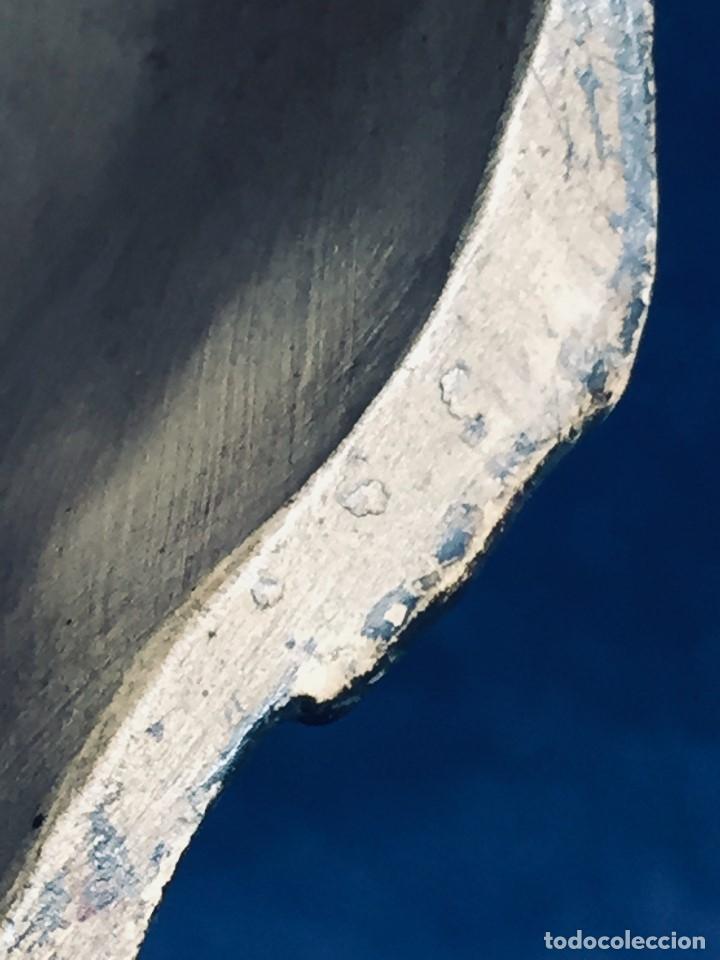 Arte: escultura terracota chico negro color americano sombrero copa sentado firma goldscheider austria 37c - Foto 32 - 173715164